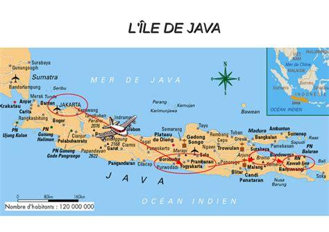 Ile De Tourisme Carte by Ile De Java Tourisme Voyages Cartes