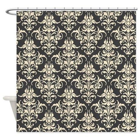 damask shower curtain beautiful gray damask shower curtain by nicholsco