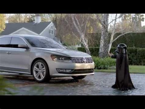 hilarious volkswagen commerical star wars  darth