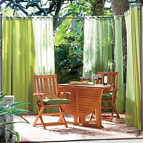 outdoor curtain rod with post set posts outdoor curtain
