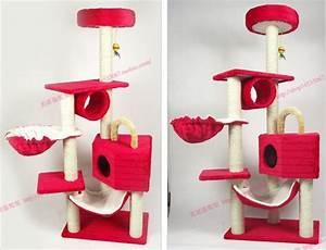 Arbre À Chat Pas Cher : arbre a chat rouge pas cher ~ Nature-et-papiers.com Idées de Décoration