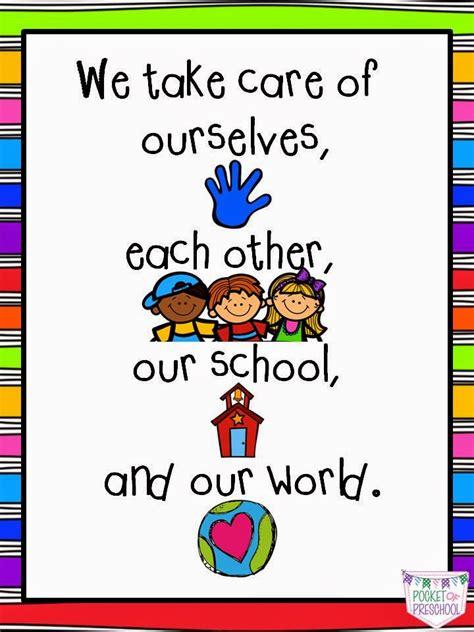 we care preschool classroom and expectations in preschool pocket of 400