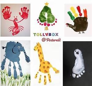 Malen Mit Kleinkindern Ideen : malen mit hand und fu basteleien f r kinder pinterest ~ Watch28wear.com Haus und Dekorationen