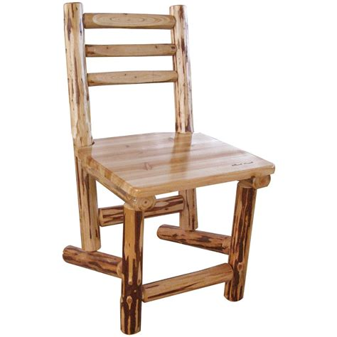 creek log cabin style dining chair 589905 kitchen