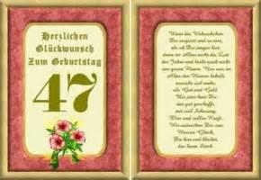 sprüche für oma und opa lustige geburtstag wünsche 47 jahre kostenlos ausdrucken