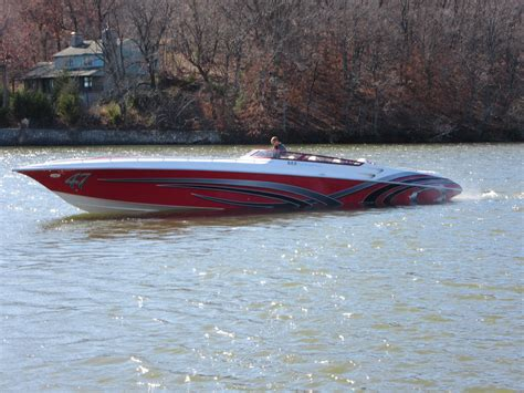 Fountain Boats Used by 2006 Fountain 47 Lightning Power New And Used Boats For Sale