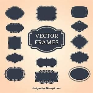 Vintage decorative frames Vector | Free Download
