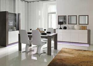 modulares wohnzimmer set hochglanz weiss grau mit led