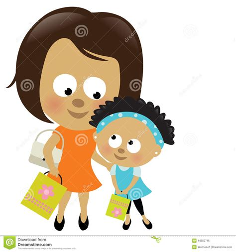 african american boy  mom clipart   cliparts