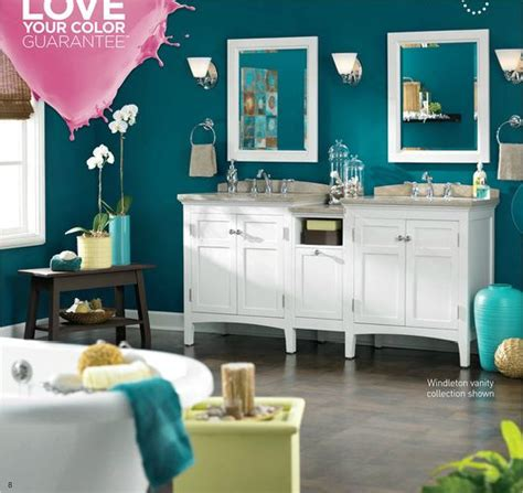 teal paint colors at lowes lowes valspar paint ad the wall color is teal 5010
