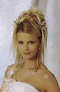 Chignon Cheveux Mi Long : chignon mariage cheveux mi long ~ Melissatoandfro.com Idées de Décoration