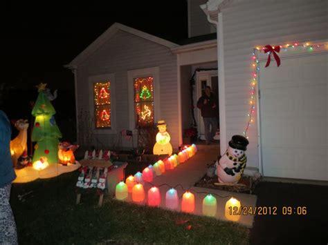 holiday lights using milk jugs large c9 string of lights
