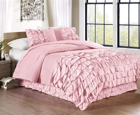pink comforter set pink and green bedding sets ease bedding with style