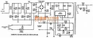 Circuits The Power Supply Circuit Diagram Of Ibm Pc Ii Type Color Display Schematic