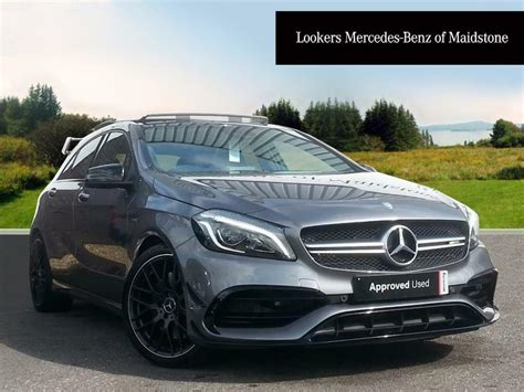 We analyze millions of used cars daily. Mercedes-Benz A Class A45 AMG 4MATIC (grey) 2016-12-21   in Maidstone, Kent   Gumtree