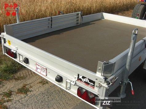 Koch Type S 350cm Smart Trailer / Small Car Trailer 2011