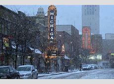 Ann Arbor Nights Snowstorm Shoot Ann Arbor Photographer