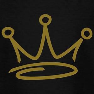 graffiti style crown T-shirt | Spreadshirt