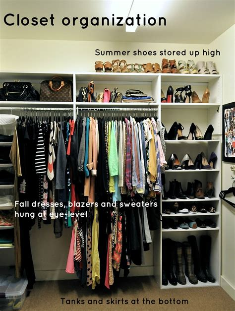 Closet Organization Ideas For Apartments by Use The Space Above Hangers You Pretty High Ceiling