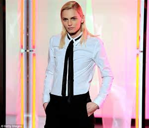 Andrej Pejic in a onesie? Androgynous model hits catwalk