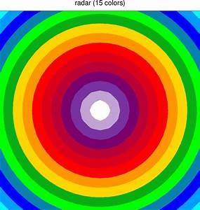 Radar Color Table