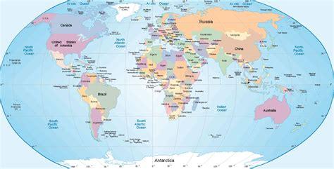 Carte Du Monde Avec Nom Des Pays Et Océans by Carte Du Monde Avec Nom Des Pays En Anglais