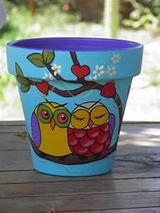 Diy, Easy, Flower, Pot, Painting, Ideas, 13