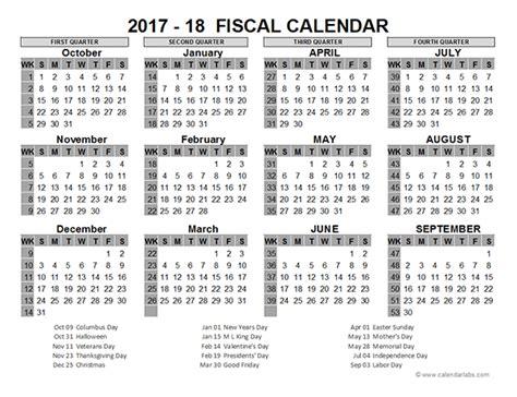 Financial Year Calendar Template Costumepartyrun
