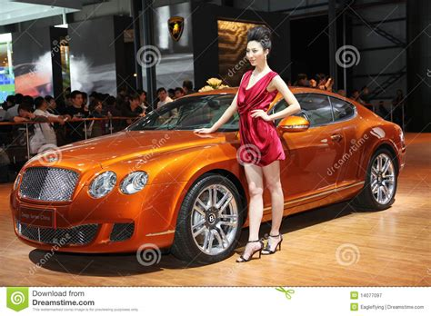 bentley continental gt design series china editorial