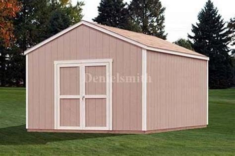 shed plans 12x16 12x16 gable storage shed plans buy it now get it fast ebay
