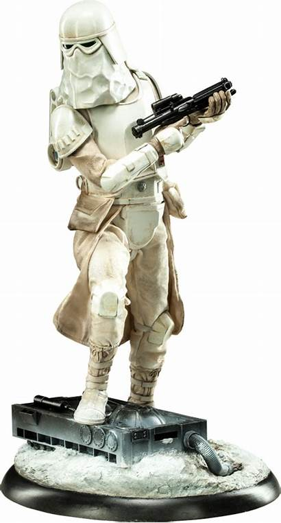 Wars Snowtrooper Star Sideshow Collectibles Figure Format