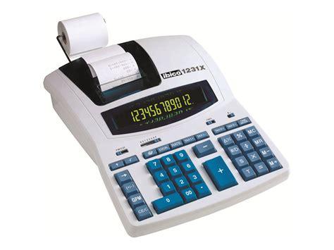 materiel de bureau discount rexel ibico professional 1231x calculatrice avec