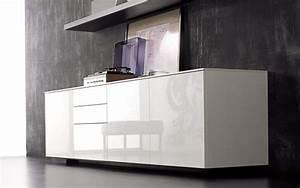 Sideboard Hängend Weiß Hochglanz : sideboard wei hochglanz 240 cm bruin blog ~ Watch28wear.com Haus und Dekorationen