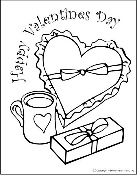 Coloring Valentines by S Day Coloring Pages
