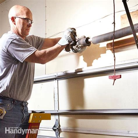advanced garage overhead door repairs  family handyman