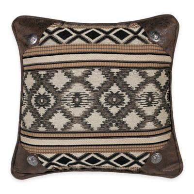 Bed Bath And Beyond Tucson by Hiend Accents Tucson Concho Accented Printed Square Throw