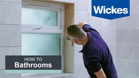 how to tile around a window with wickes youtube