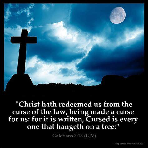 Galatians 313 Inspirational Image