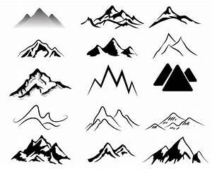 Mountains Free Vector / 4Vector