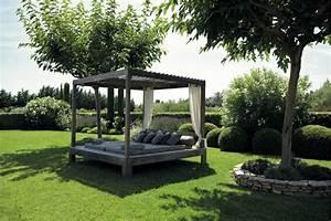 Lit Exterieur Jardin : am nager son jardin d corer votre ext rieurs avec go t ~ Teatrodelosmanantiales.com Idées de Décoration
