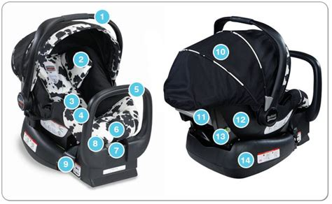 Anatomy Of An Infant Car Seat