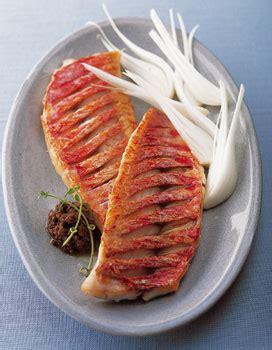 cuisiner le rouget filets de rouget en tapenade pour 4 personnes recettes