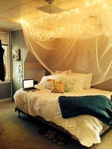 Diy, Rustic, Bed, Canopy