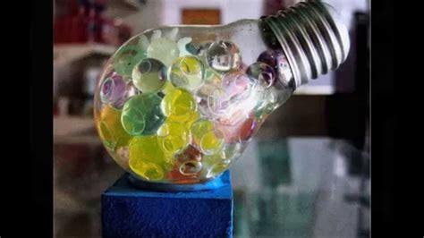 recicla diapositivas  ideas  reciclar bombillas