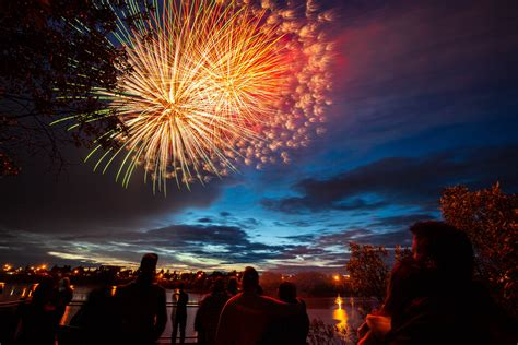 city launches fireworks show  canada day  grande prairie