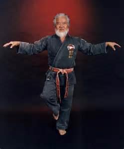 Okinawan Karate Master Kise