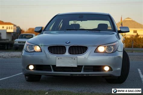 2006 Bmw 5-series 550i For Sale In United States