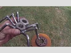 welding project, spider YouTube