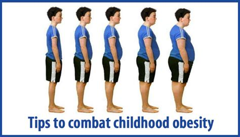 tips  combat childhood obesity