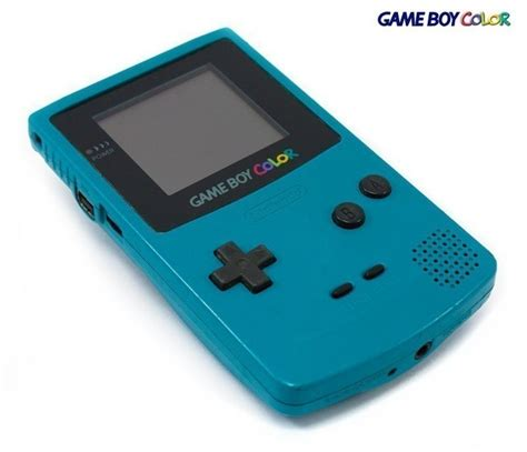 ebay gameboy color gameboy color console turquoise blue teal 45496710804